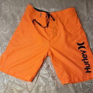 Men's HurleyTrue Innovation Boarding Shorts, Sz 30